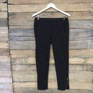 LRLauren | Stretch Ponte Pants Leggings Charcoal